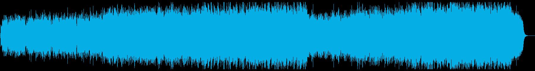現代邦画アニメOP風シネマティックオケの再生済みの波形