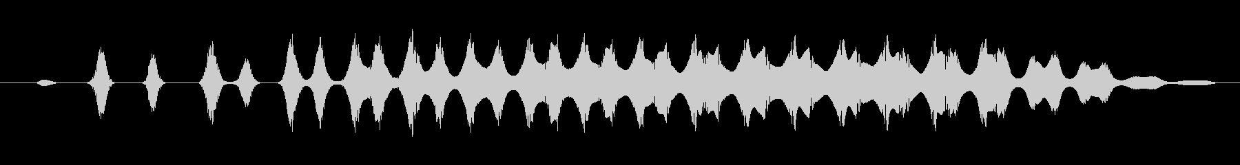 レトロスワイプ、スペーステレメトリーの未再生の波形