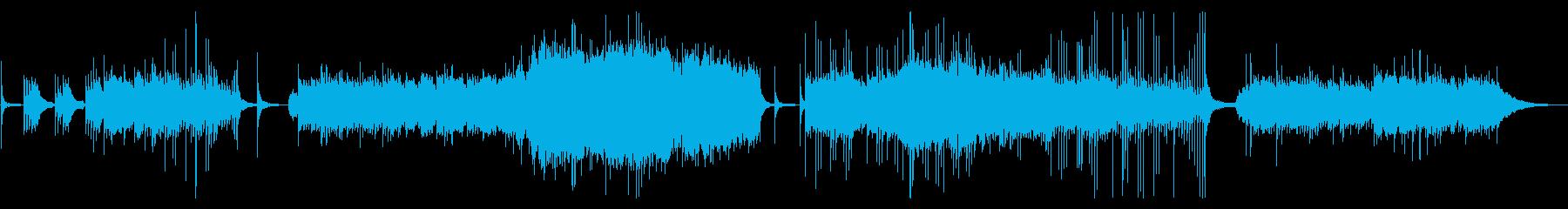 死別をイメージした悲しいBGMです。の再生済みの波形
