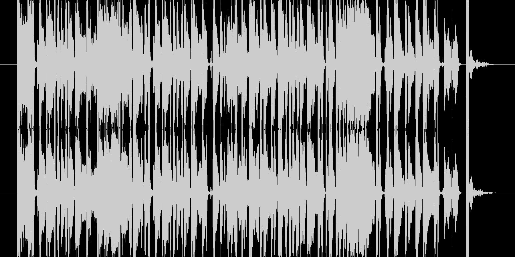 15秒CM向け!オシャレで軽快な楽曲!の未再生の波形