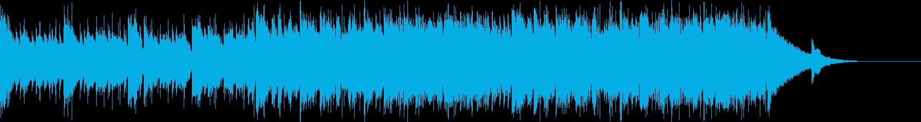 Pf「打診」和風現代ジャズの再生済みの波形