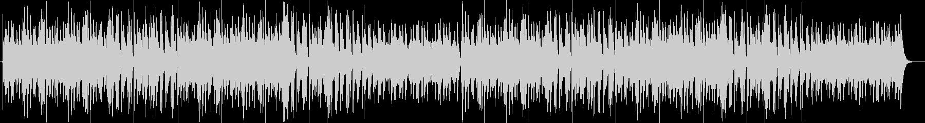 ゆっくりふんわりした木琴のようなbgmの未再生の波形