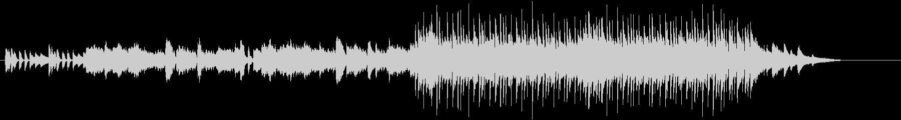 メロディー・ラインが映える和風ポップスの未再生の波形