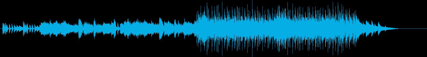 メロディー・ラインが映える和風ポップスの再生済みの波形