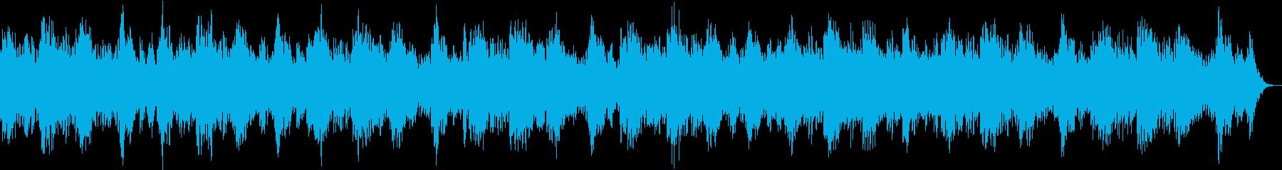 リラックス、落ち着いたヒーリングBGMの再生済みの波形