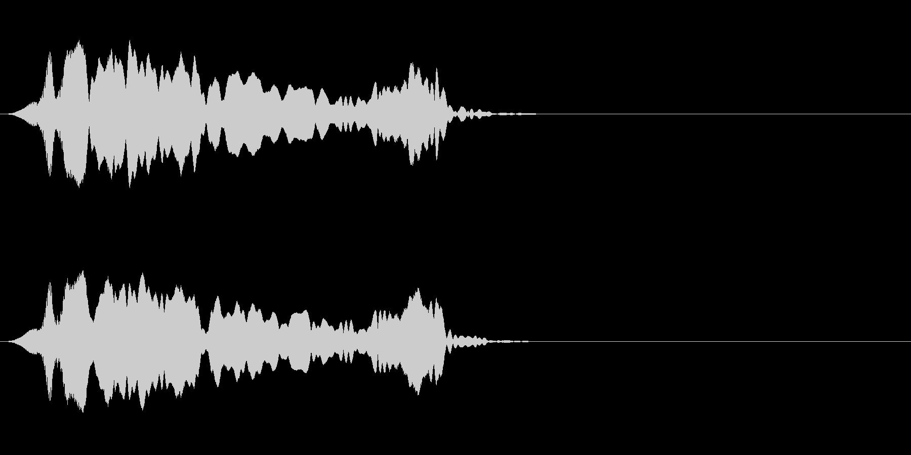 尺八 生演奏 古典風#9の未再生の波形
