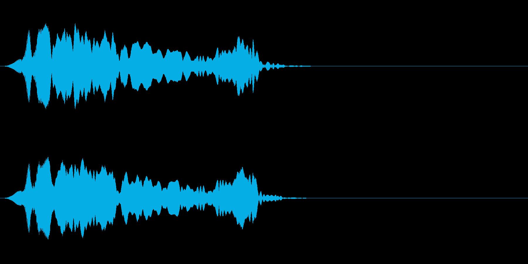 尺八 生演奏 古典風#9の再生済みの波形