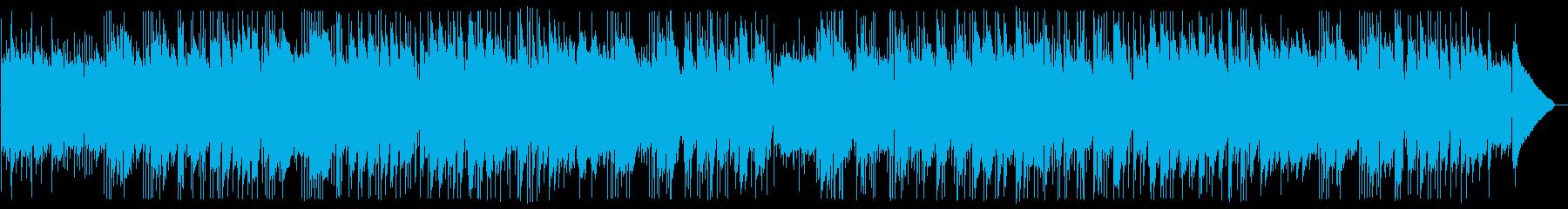 ギターデュオのヒーリングの再生済みの波形