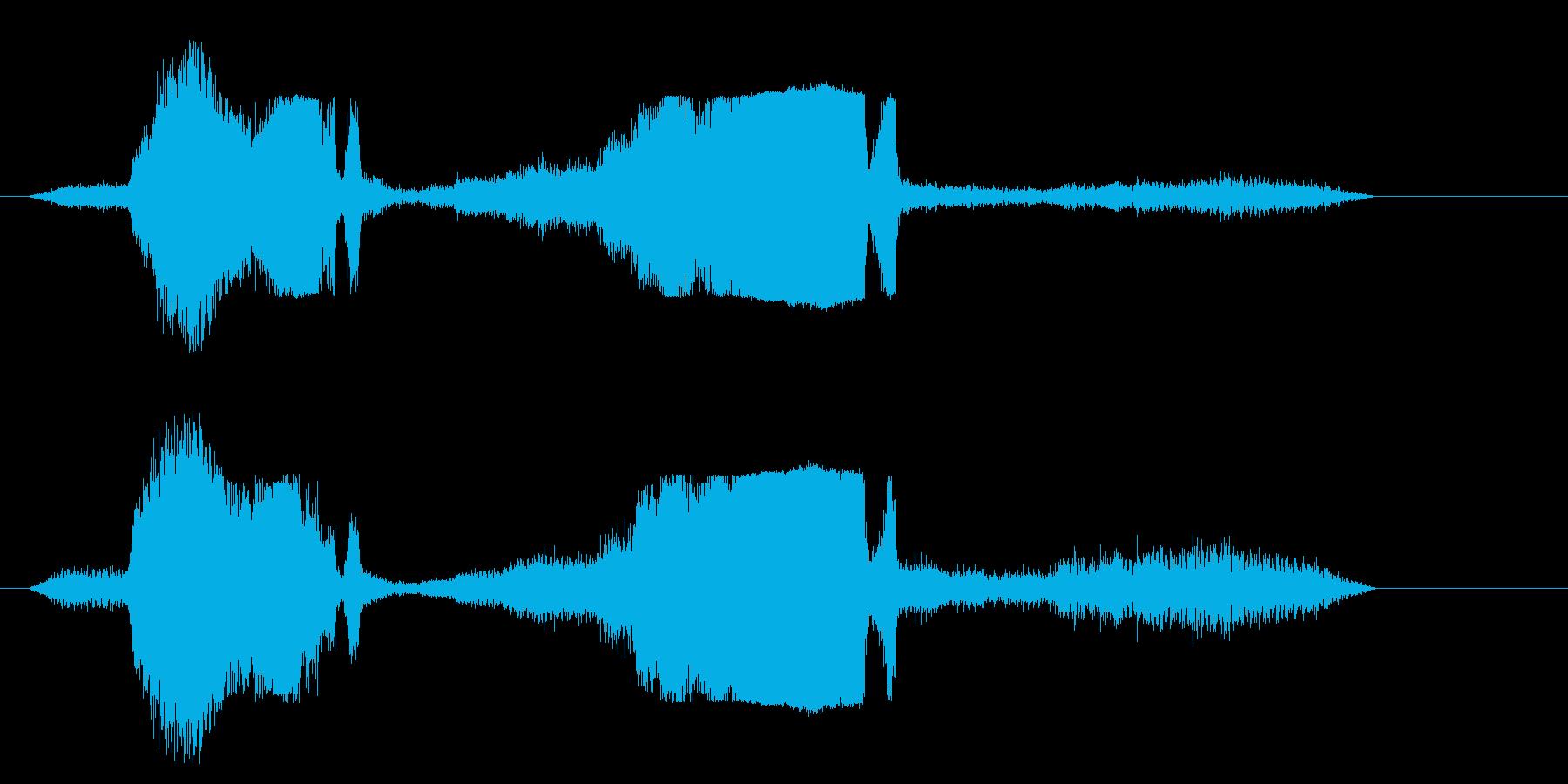 モンスタートラック; Revvin...の再生済みの波形