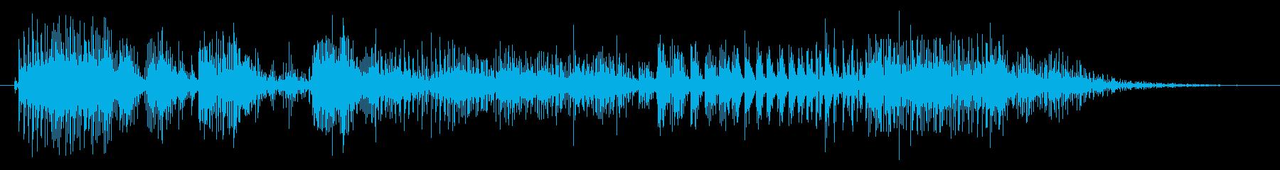 ノイズ スカットル02の再生済みの波形