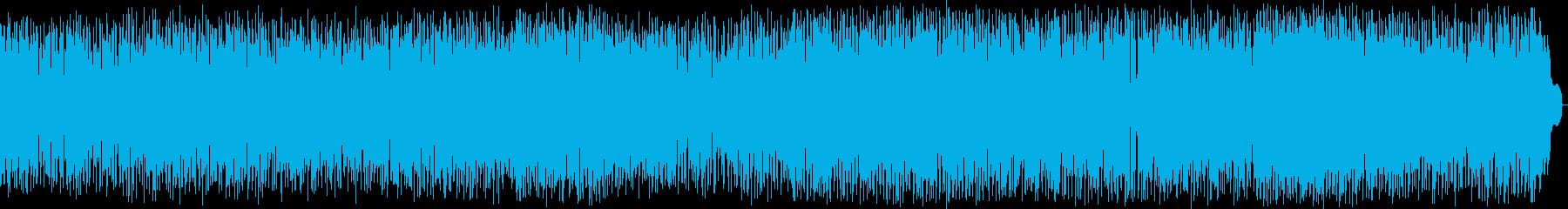 北欧風の明るく軽いケルトポップの再生済みの波形