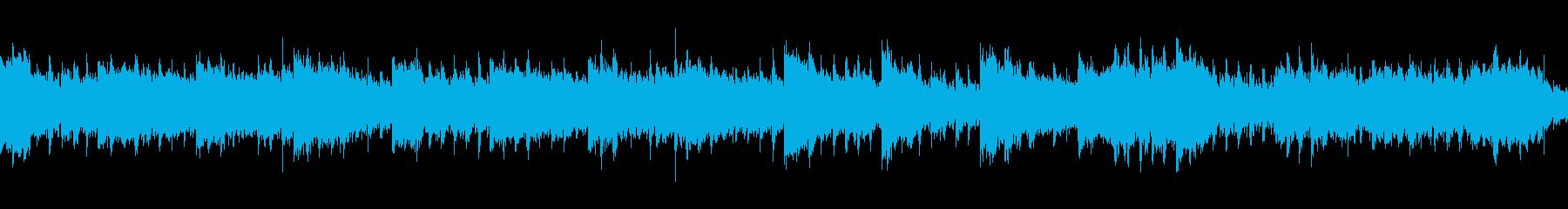 魔王の城をイメージしたホラー系BGMの再生済みの波形