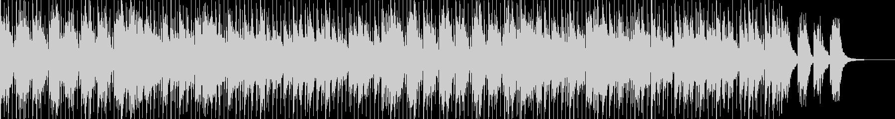 ポップでオーソドックスなフュージョン01の未再生の波形