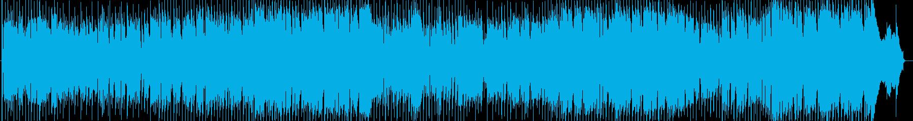 ぬくもりがあるなめらかなメロディーの再生済みの波形