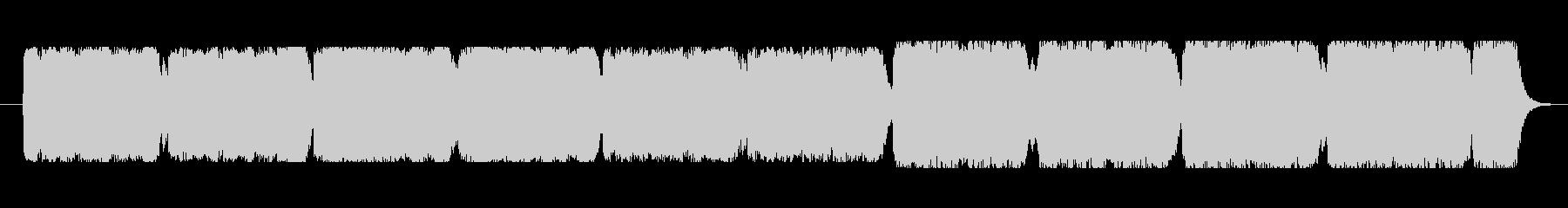 クラシカルで華やかなワルツの未再生の波形