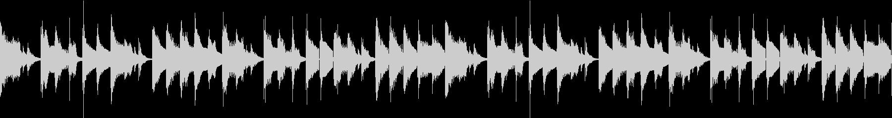 ノロノロな雰囲気のBGM ループ仕様#1の未再生の波形