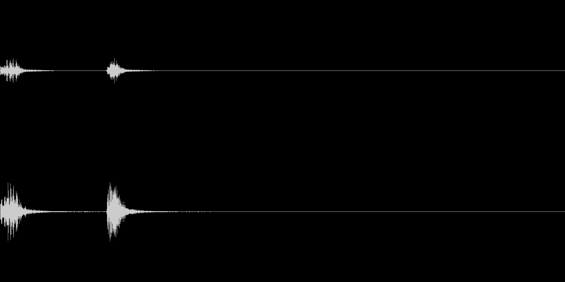 弾倉の装填音_その2の未再生の波形