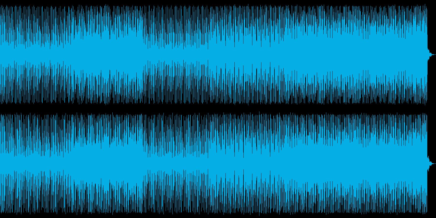 シンプル/ハウス_No671_1の再生済みの波形