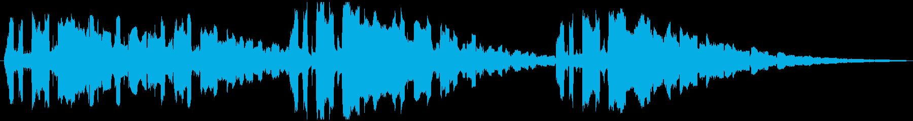 シーケンス ダークフューチャージャズ01の再生済みの波形