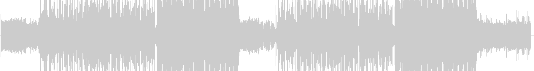 Fidgetの未再生の波形