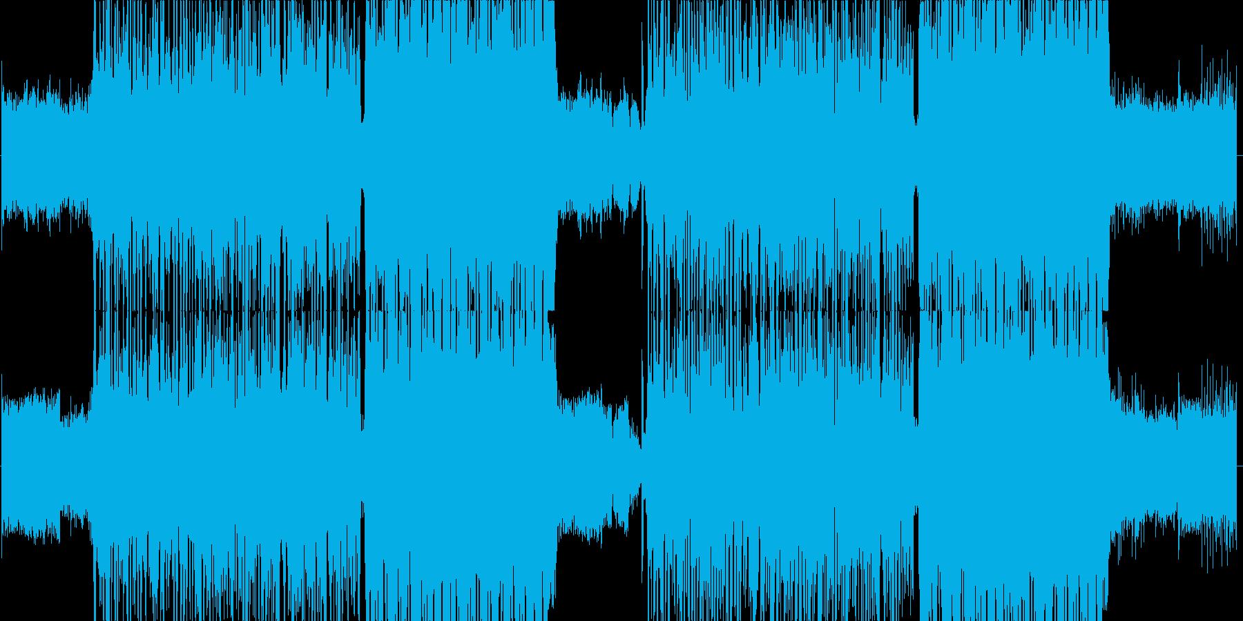 Fidgetの再生済みの波形