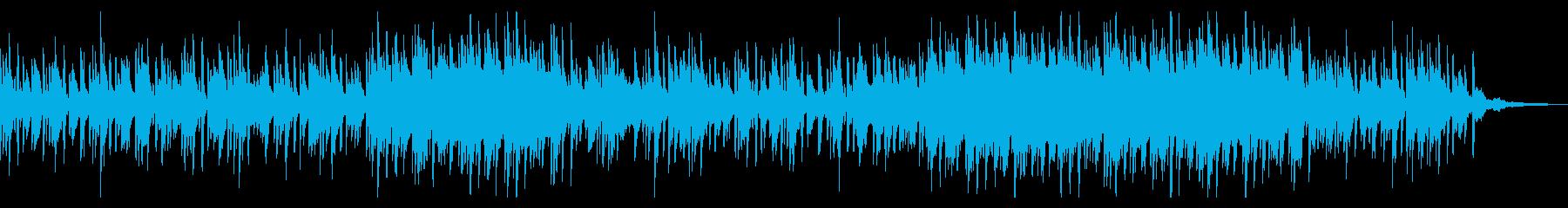 和風の ちょっとコミカルなピアノソロ。の再生済みの波形