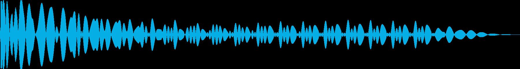 EDMキック キーFの再生済みの波形