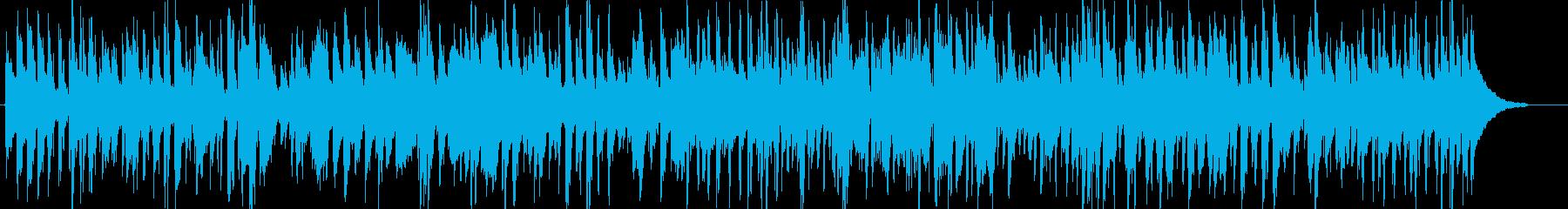 おしゃれで洗練されたアップテンポなジャズの再生済みの波形