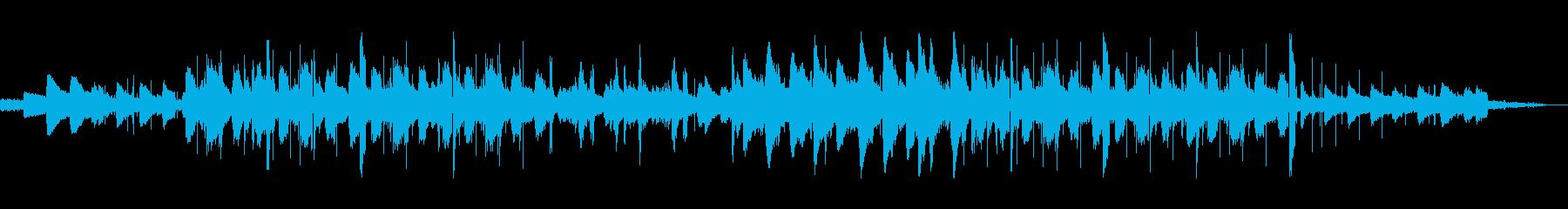 おしゃれなローファイジャズホップの再生済みの波形