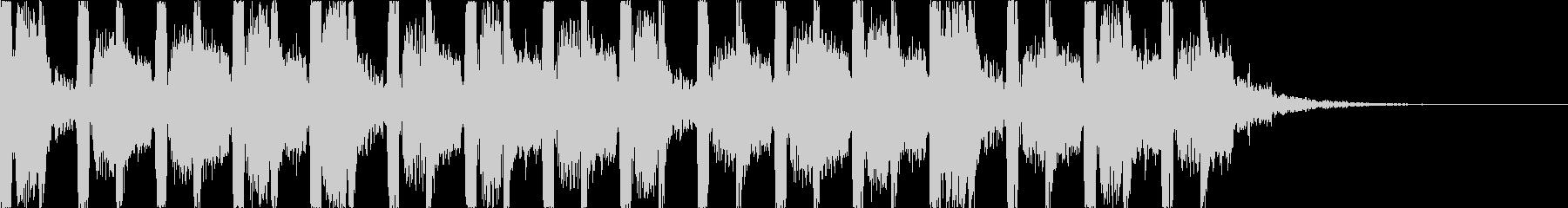 キャッチーでダークなEDM4の未再生の波形