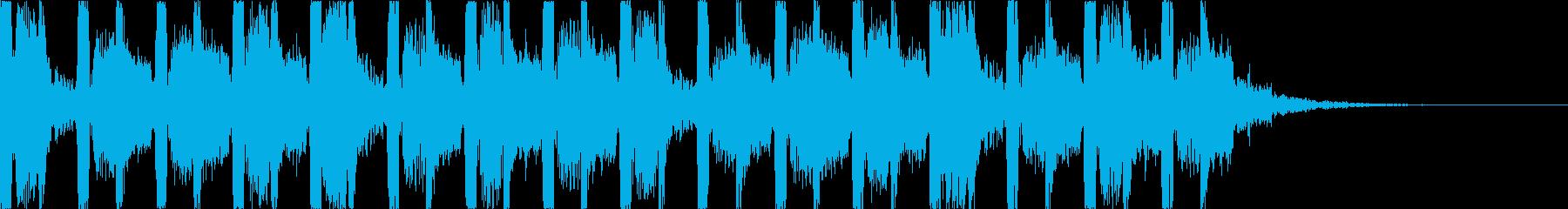 キャッチーでダークなEDM4の再生済みの波形
