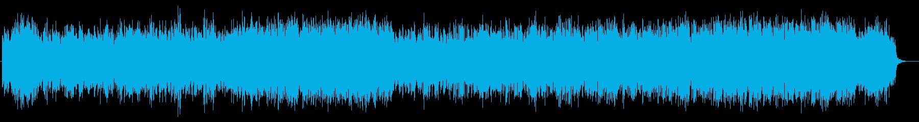 クリスマス的なチャーチ風BGMの再生済みの波形