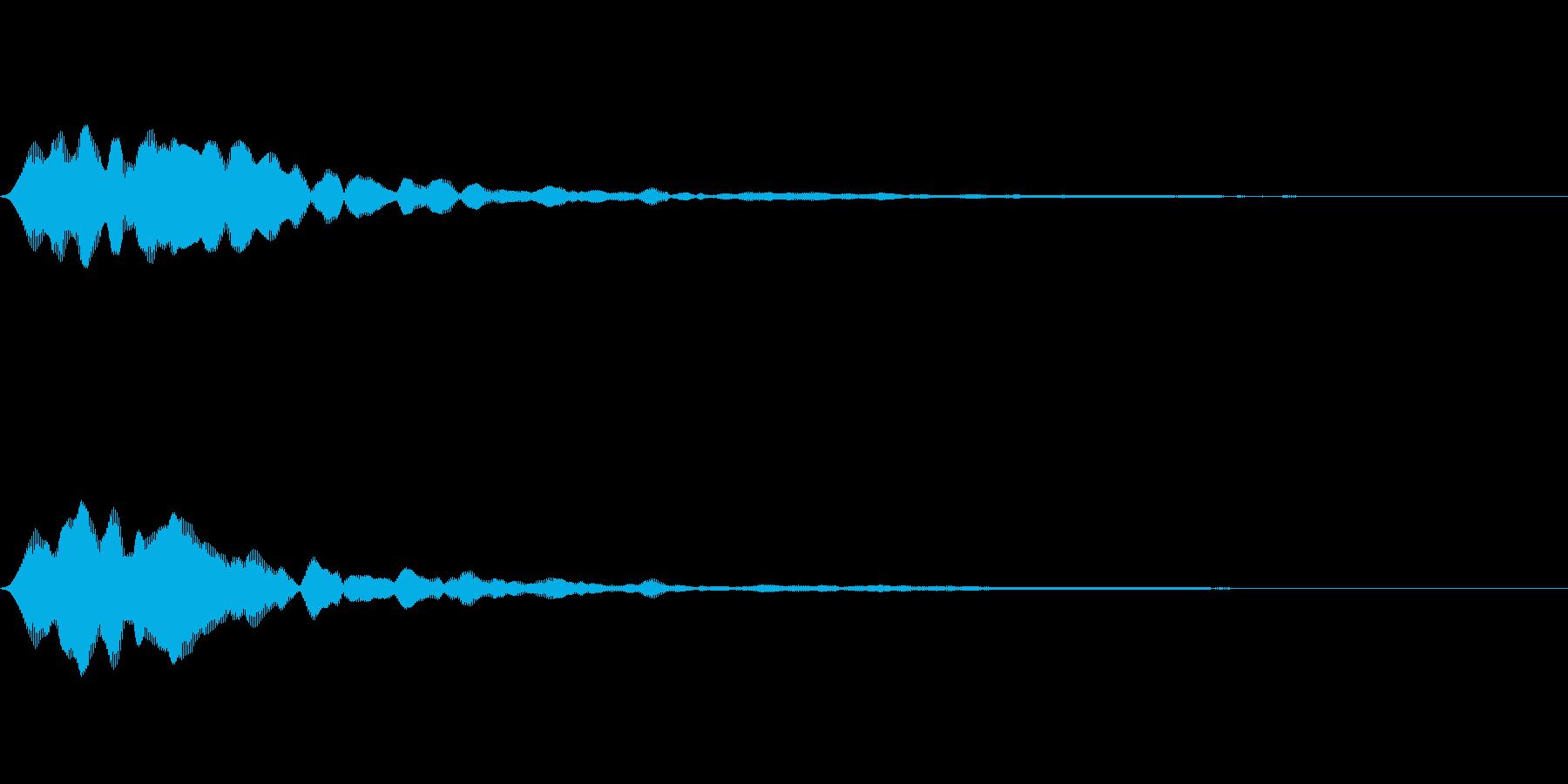フィーン(タイトルメニュー_オンマウス)の再生済みの波形