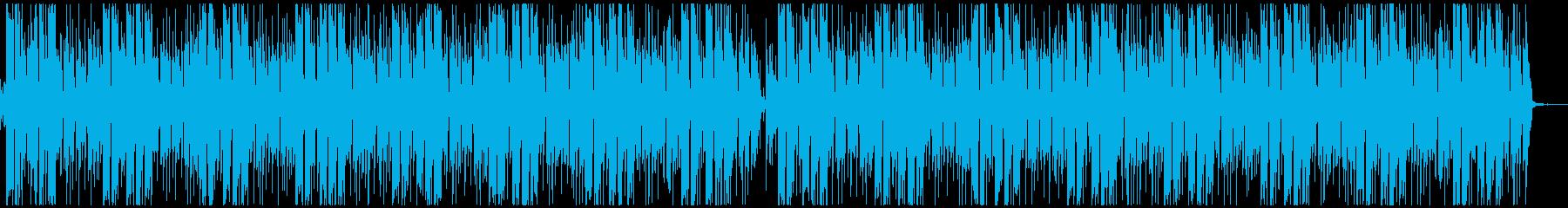 キレと疾走感のあるポストロックの再生済みの波形