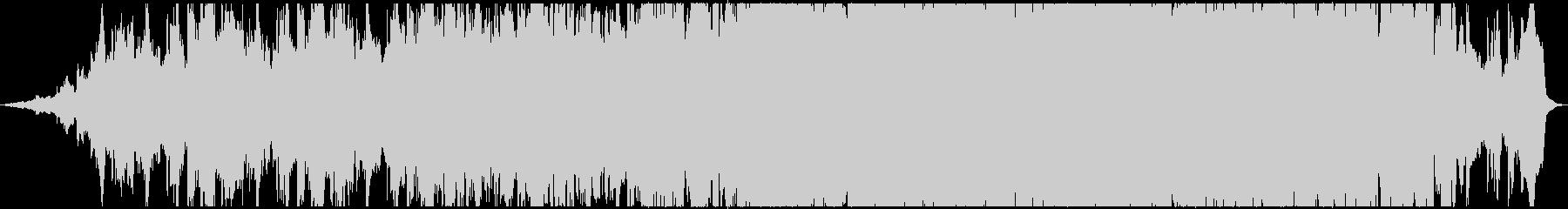 ダークでアンビエントで切ないメロディの未再生の波形
