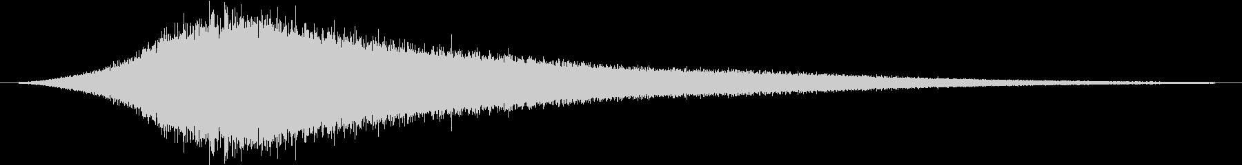 【ホワイトノイズ】サーッ・・・の未再生の波形