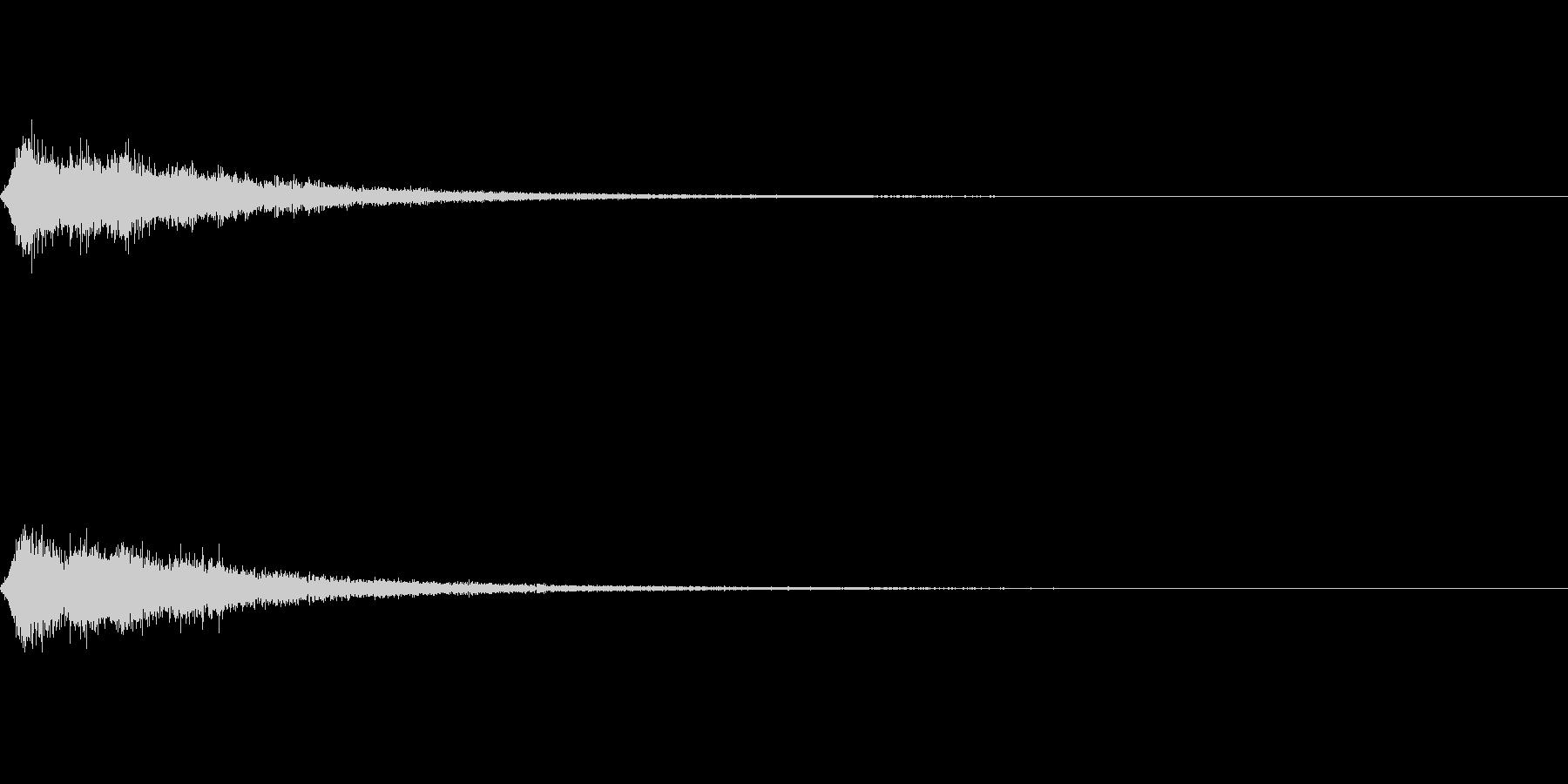 TVFX 風切り音 PR 目立たせSE4の未再生の波形