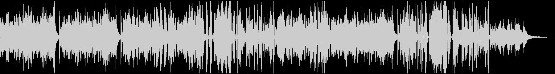ピアノソロのビート感疾走感あるクール系の未再生の波形