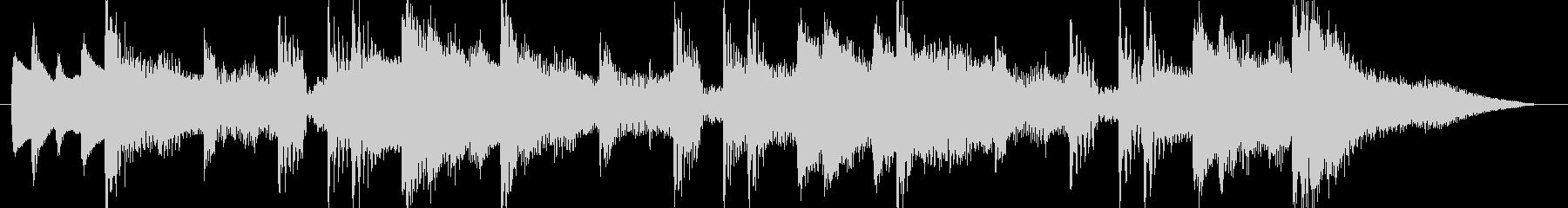 和風島唄風出囃子アイキャッチCM用BGMの未再生の波形