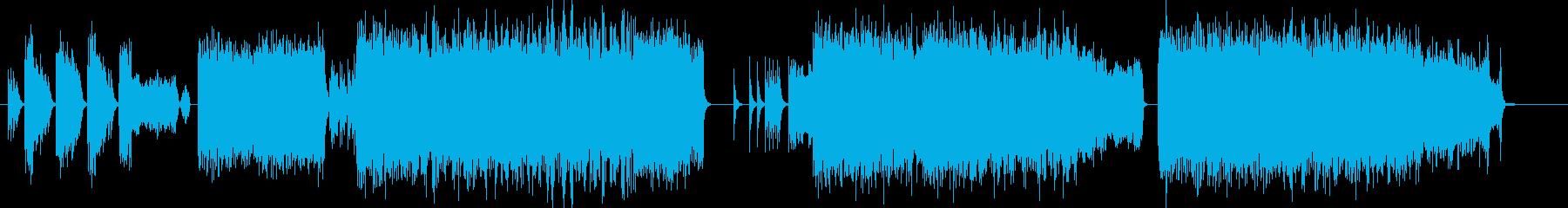 『超』激しい不快、雑音な重低音の作曲♪の再生済みの波形
