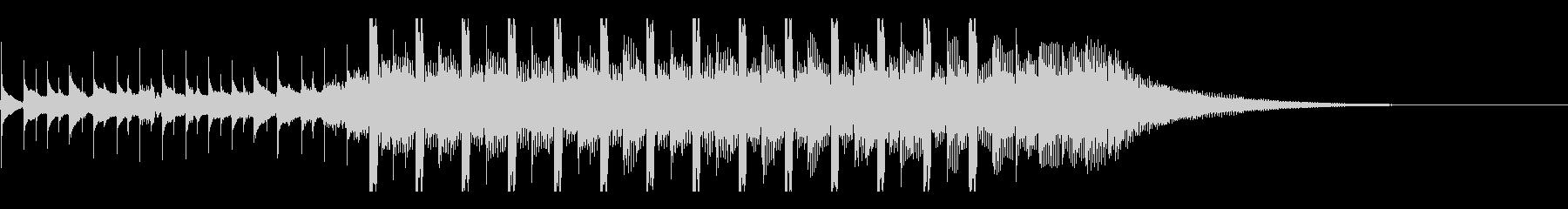 戦略(15秒)の未再生の波形