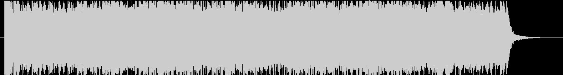 壮大で幻想的なマーチ(行進曲)の未再生の波形