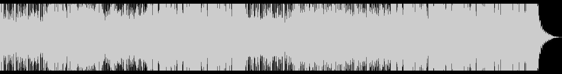 洋楽系トロピカルハウス チルアウトの未再生の波形