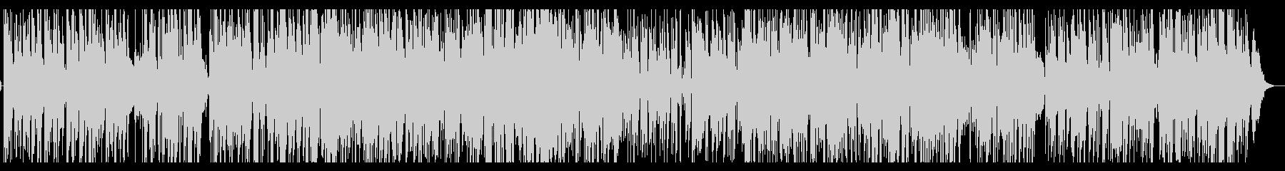 ジャズ・ギターの皇帝 風 スタンダードの未再生の波形