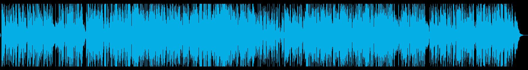 ジャズ・ギターの皇帝 風 スタンダードの再生済みの波形