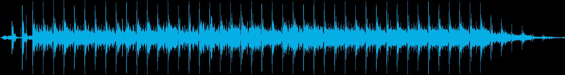 アンビエントシンセとエスニックパー...の再生済みの波形