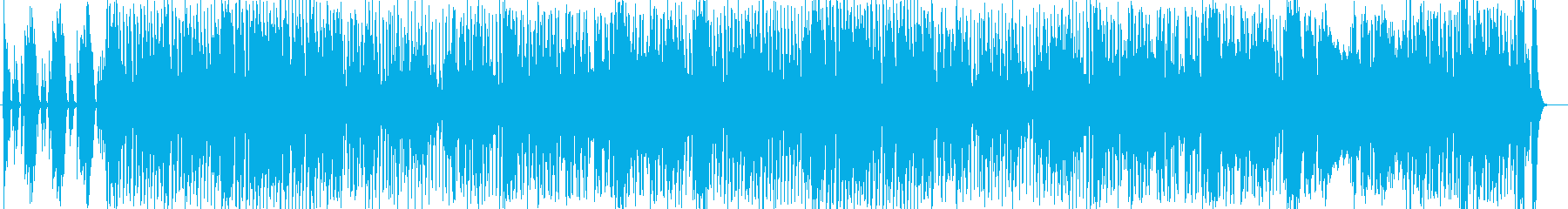 わくわく散歩シンセサイザーサウンドの再生済みの波形