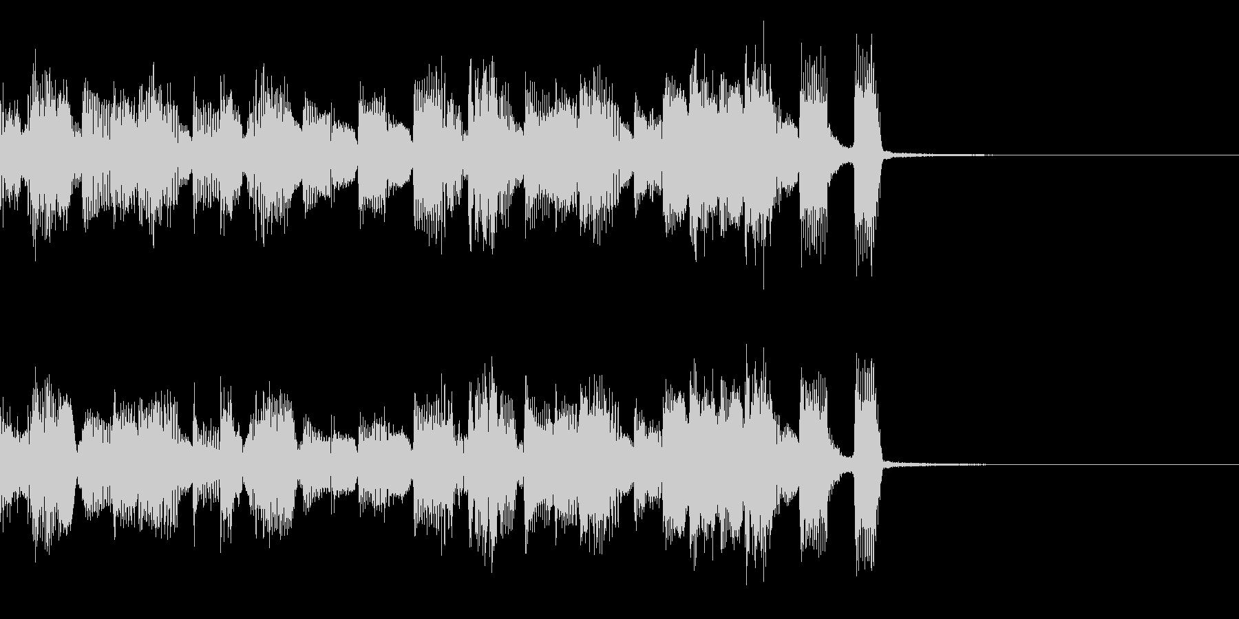 エレクトロなジングル・47の未再生の波形