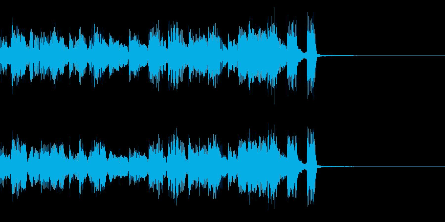 エレクトロなジングル・47の再生済みの波形