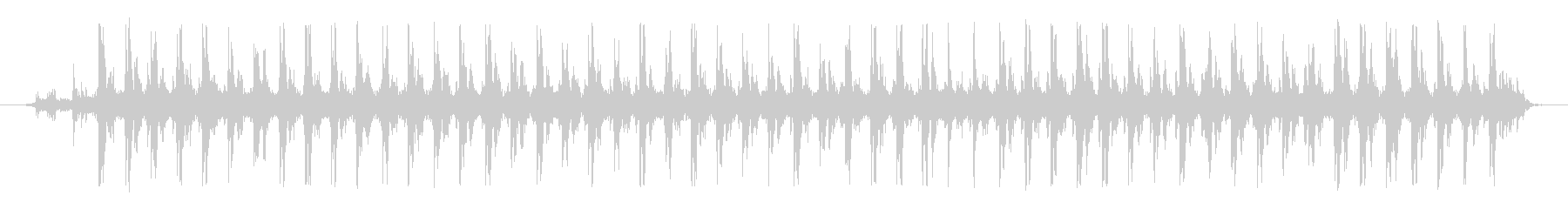 ミシン 01の未再生の波形